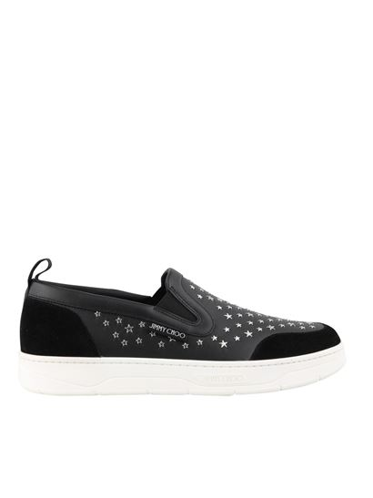 Jimmy Choo - Hawaii Slip On/M sneakers in black