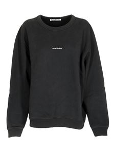 Acne Studios - Black sweatshirt with logo on the chest