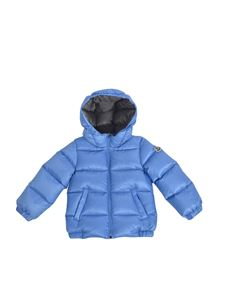 Moncler Jr - New Macaire down jacket in light blue
