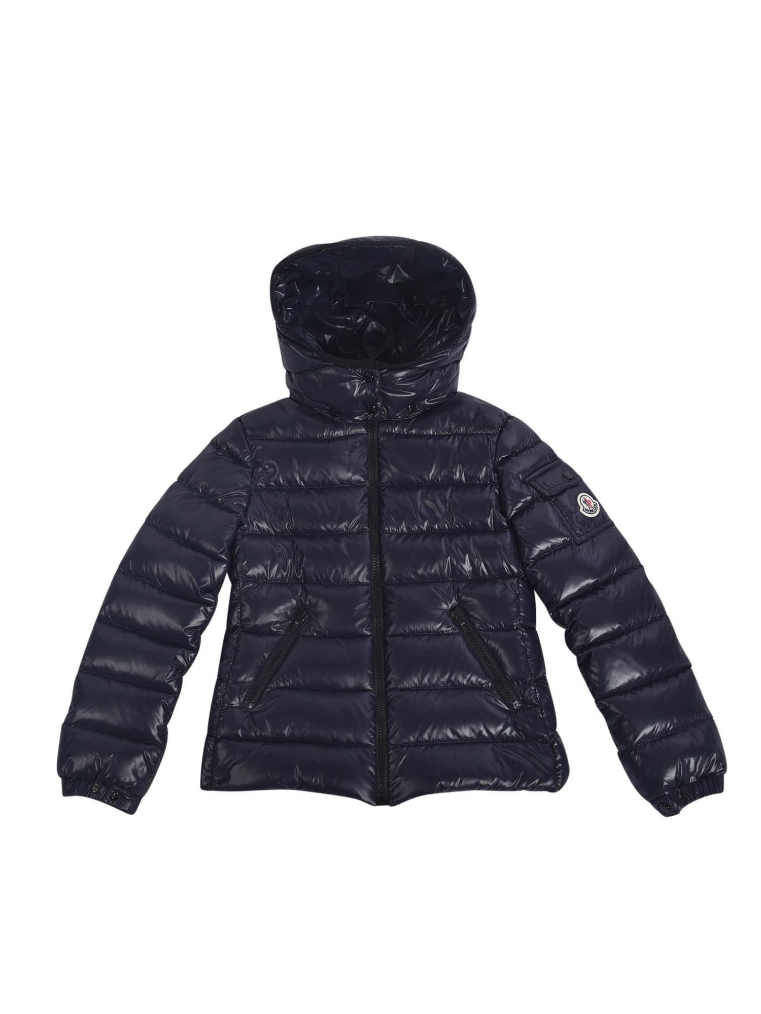 Moncler Jr Downs BADY DOWN JACKET IN DARK BLUE