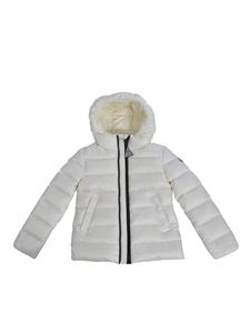 Moncler Jr - Alithia down jacket in white