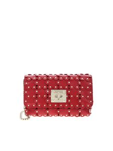 Red Valentino - Flower Puzzle shoulder bag in red