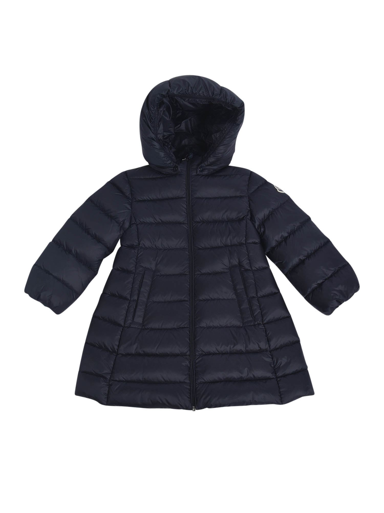 Moncler Jr Downs MAJEURE DOWN JACKET IN BLUE