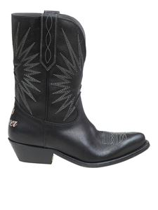 Golden Goose - Whis Star boots in black