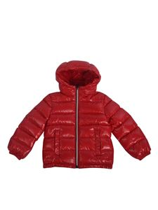 Moncler Jr - New Aubert down jacket in red