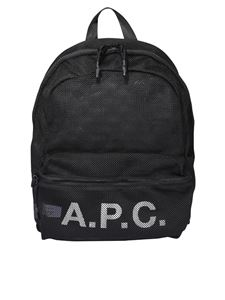 A.P.C. - Rebound backpack in black