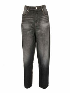 Isabel Marant Étoile - Corsi jeans in faded black