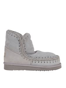 Mou - Eskimo 18 booties in grey