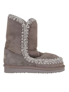 Mou - Eskimo 24 booties in grey