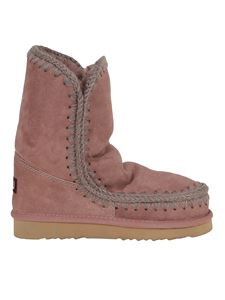 Mou - Eskimo 24 booties in pink