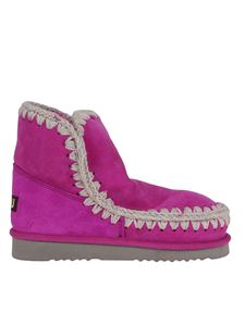 Mou - Eskimo 18 booties in fuchsia