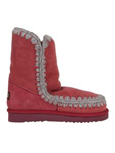 Mou - Eskimo 24 booties in red