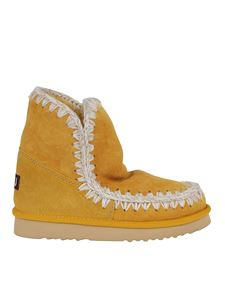 Mou - Eskimo 18 booties in yellow