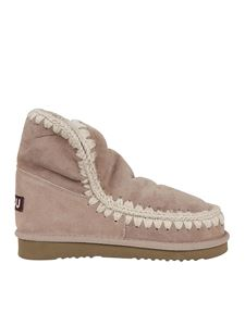 Mou - Eskimo 18 booties in beige