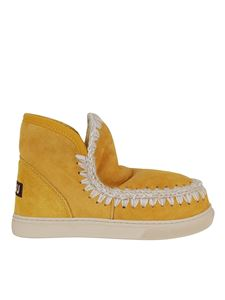 Mou - Eskimo booties in yellow