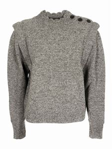 Isabel Marant Étoile - Meery sweater in anthracite color