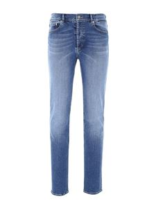 Givenchy - Faded denim jeans in light blue