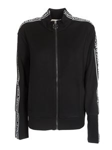 Michael Kors - Black sport jacket with logo band