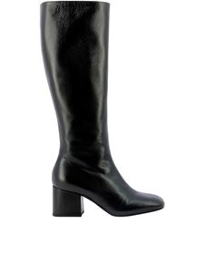 Marni - Leather boots in black