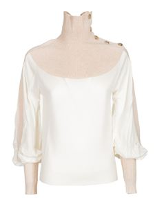 Chloé - Pullover Cloudy White