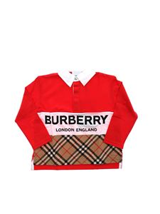 Burberry - Quentin polo shirt in red