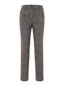 Dolce & Gabbana - Prince of Wales pants in brown