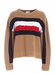Tommy Icons - Classic Khaki pullover in beige