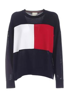 Tommy Icons - Desert Sky pullover in blue