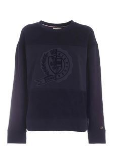 Tommy Icons - Logo patch  Icon sweatshirt in blue