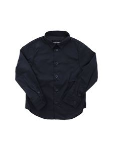 Emporio Armani - Logoed bands shirt in blue