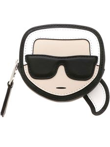 Karl Lagerfeld - K/Ikonik Karl Coin purse in black