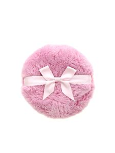 Moschino - Branded fur clutch bag in pink