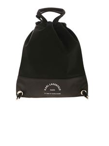 Karl Lagerfeld - Rue St Guillaume backpack in black