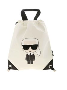 Karl Lagerfeld - K/Ikonik backpack in white