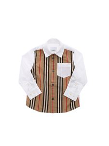Burberry - Ledger Aboyd shirt in white and beige