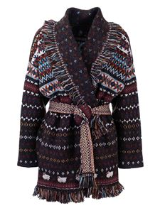 Alanui - Lost In a Forest cardigan in brown