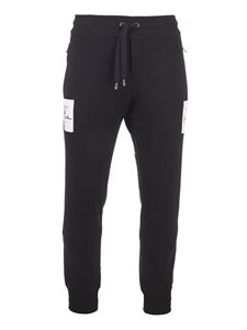 Dolce & Gabbana - Logo detail jogging pants in black