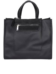 Hogan - Leather tote in black