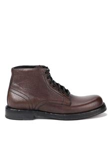 Dolce & Gabbana - Perugino ankle boots in brown