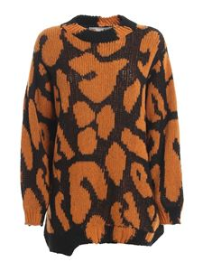 Stella McCartney - Wool alpaca-blend sweater in camel color