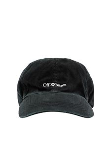 Off-White - Bookish baseball cap in black