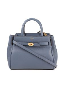 Mulberry - Bayswater small belted bag in blue