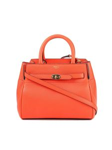 Mulberry - Bayswater small belted bag in orange color