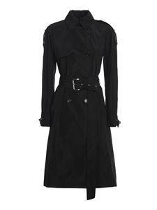 Michael Kors - Tech fabric trench coat in black