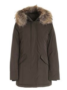 Woolrich - Luxury Artic Parka down jacket in Army green