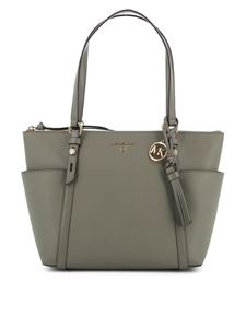 Michael Kors - Nomad medium tote bag in army green
