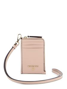 Michael Kors - Jet Set small document case in pink
