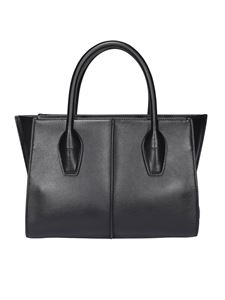 Tod's - Leather tote in black