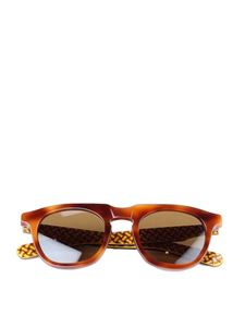 Drumohr - Tortoiseshell sunglasses in brown