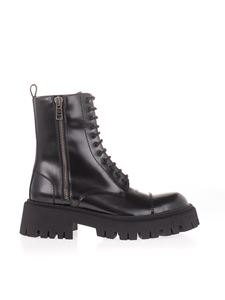 Balenciaga - Tractor 20 mm ankle boots in black